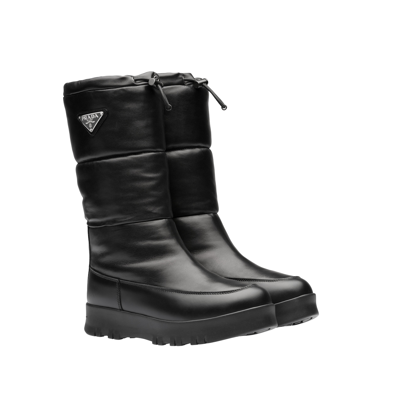 Nappa leather moon boots 2