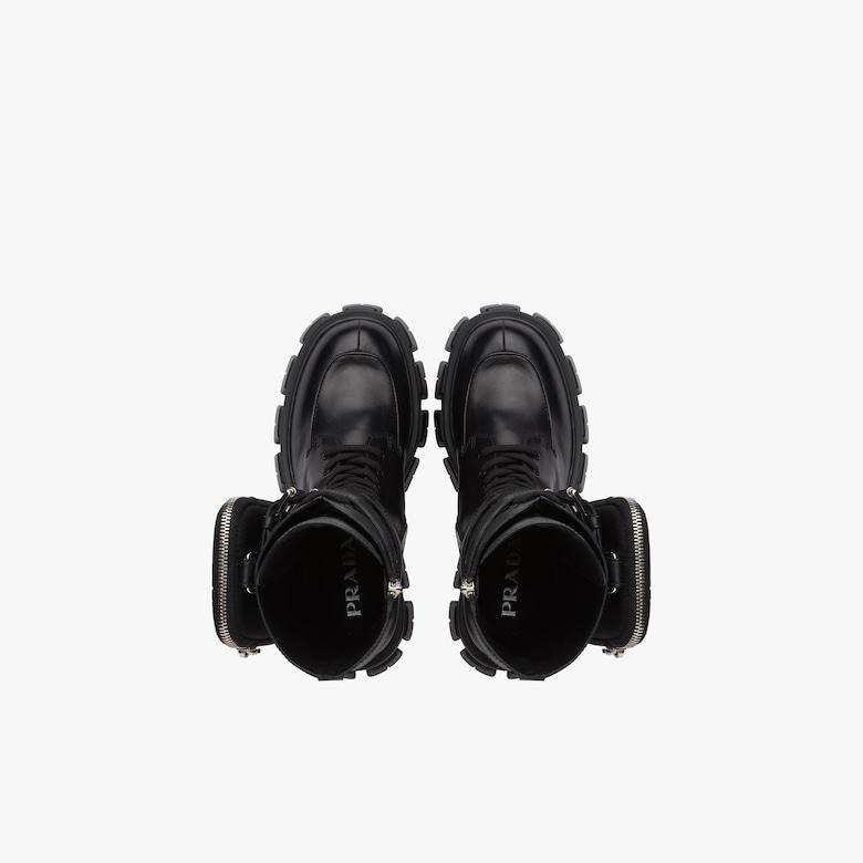 Monolith皮革短靴
