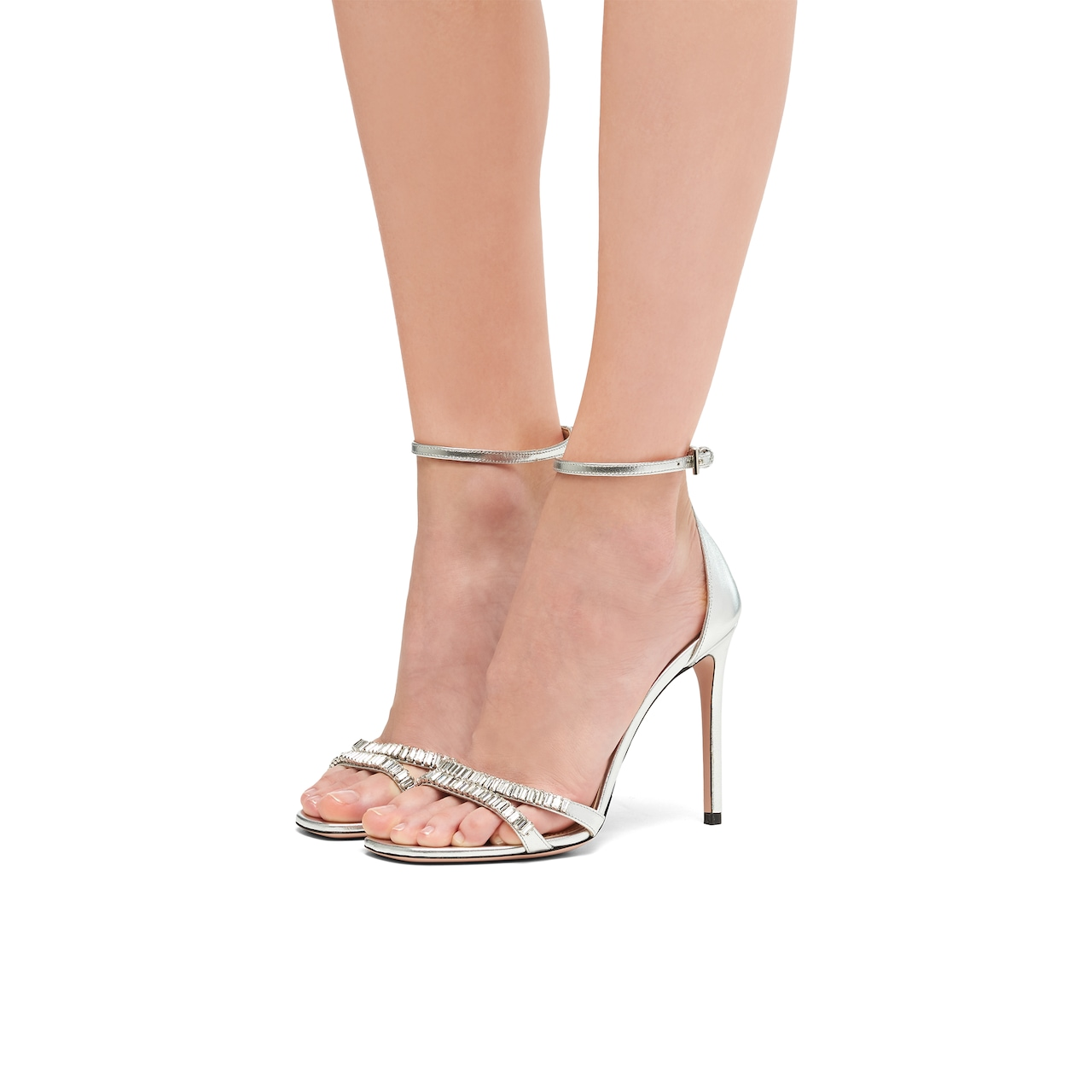 Prada Laminated nappa leather sandals 3