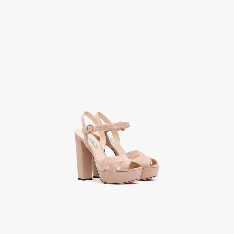 Prada Suede sandals - Woman