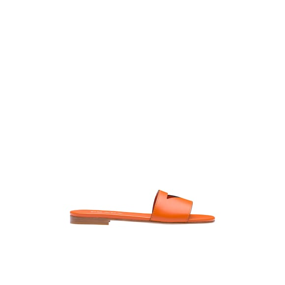 Prada Flat leather slides 3