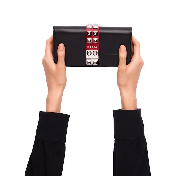Prada Elektra Leather Mini Bag