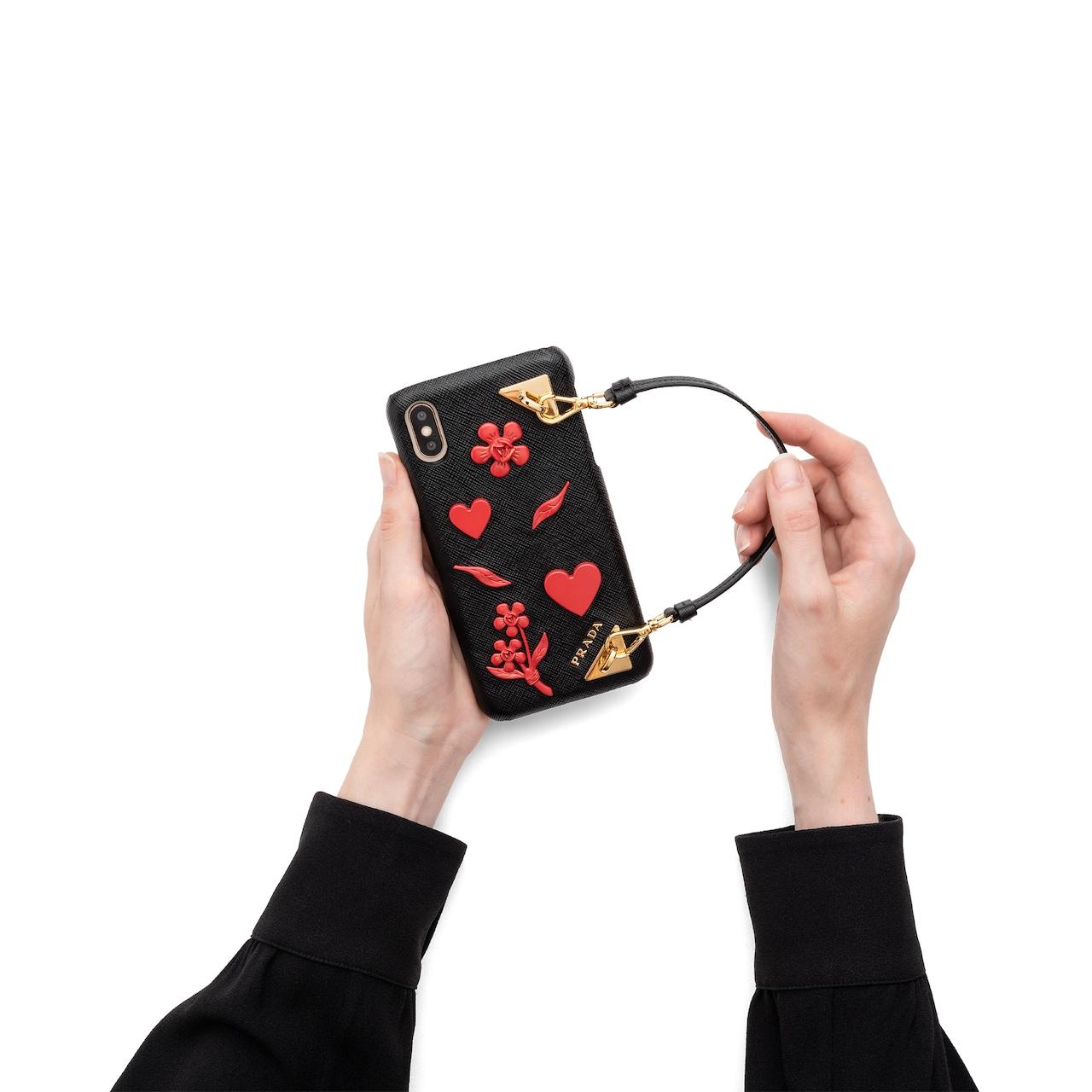 Prada Saffiano 皮革iPhone XS MAX 手机套 2