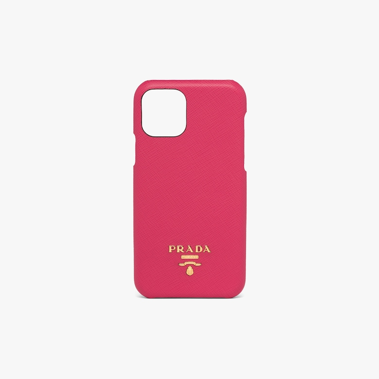 Prada Saffiano leather cover for iPhone 11 PRO - Woman