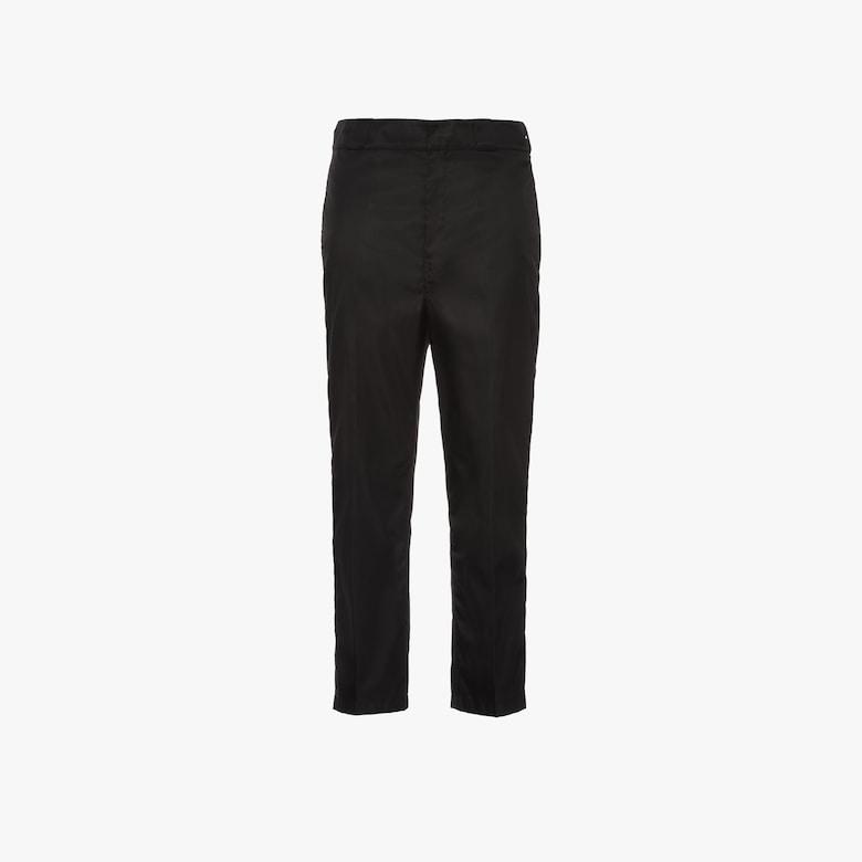 Nylon gabardine trousers