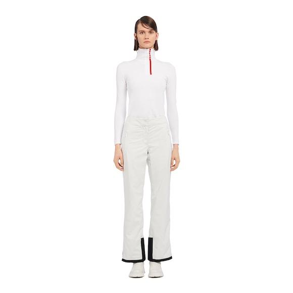 Technical fabric ski pants