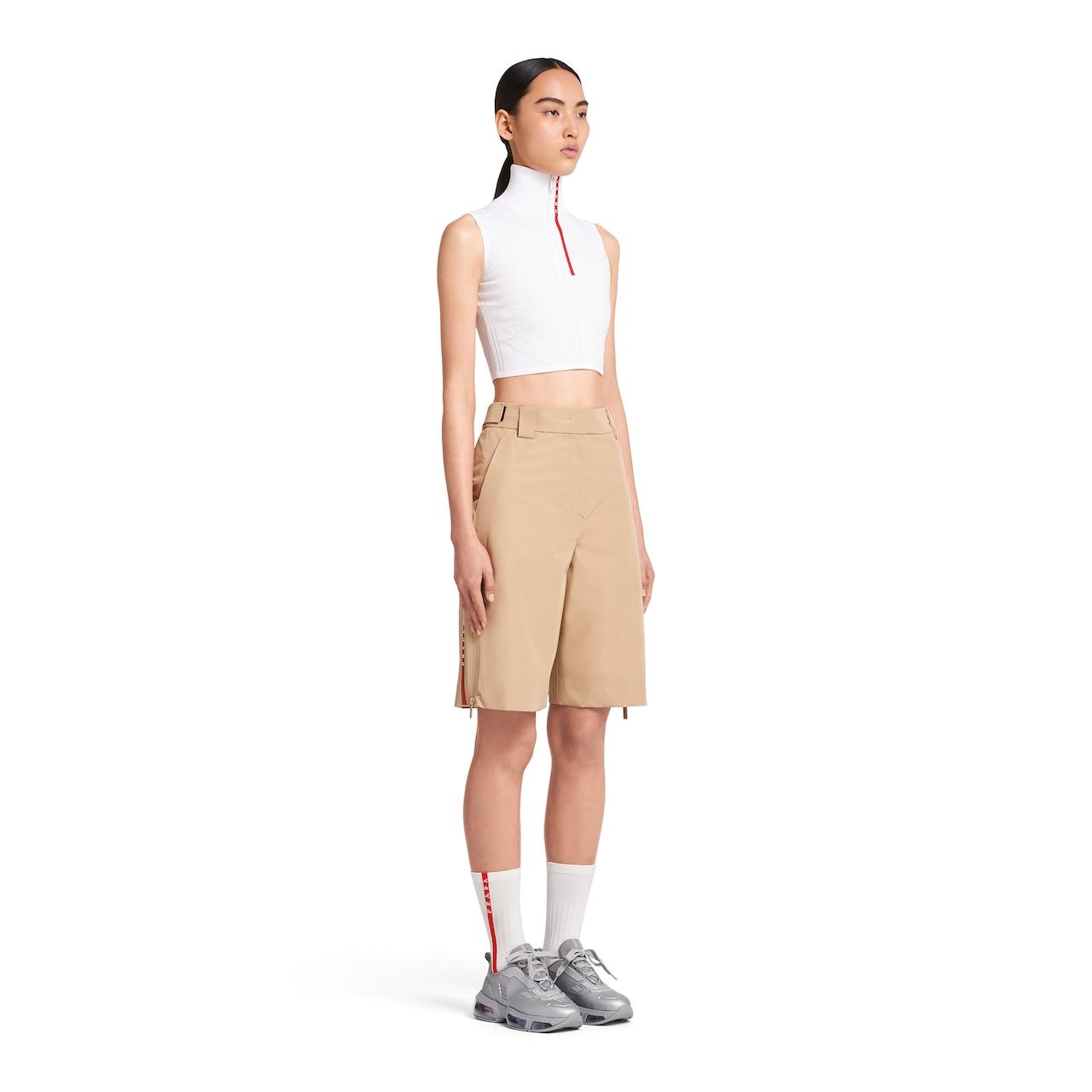 Prada LR-MX020 织物百慕大短裤 3