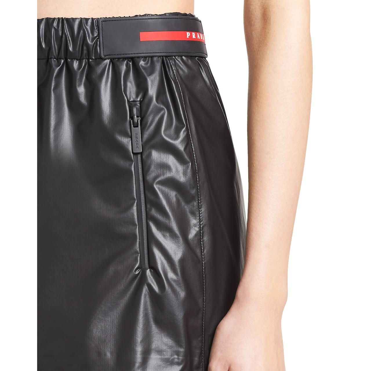 Prada LR-LX16-MK2 Light bonded nylon  shorts 5