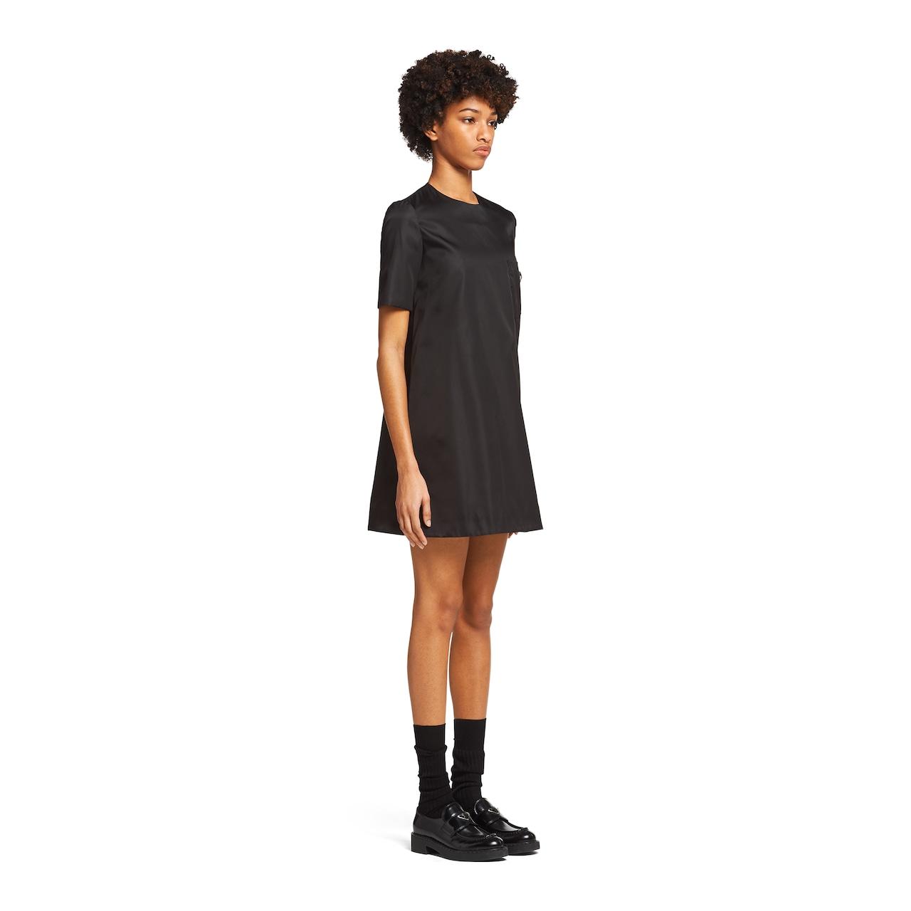 Prada Re-Nylon gabardine dress 3