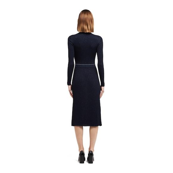 Prada Lamé wool and silk dress 4