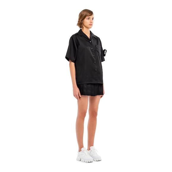 Prada Re-nylon gabardine shirt 2