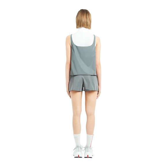 Reflective fabric top