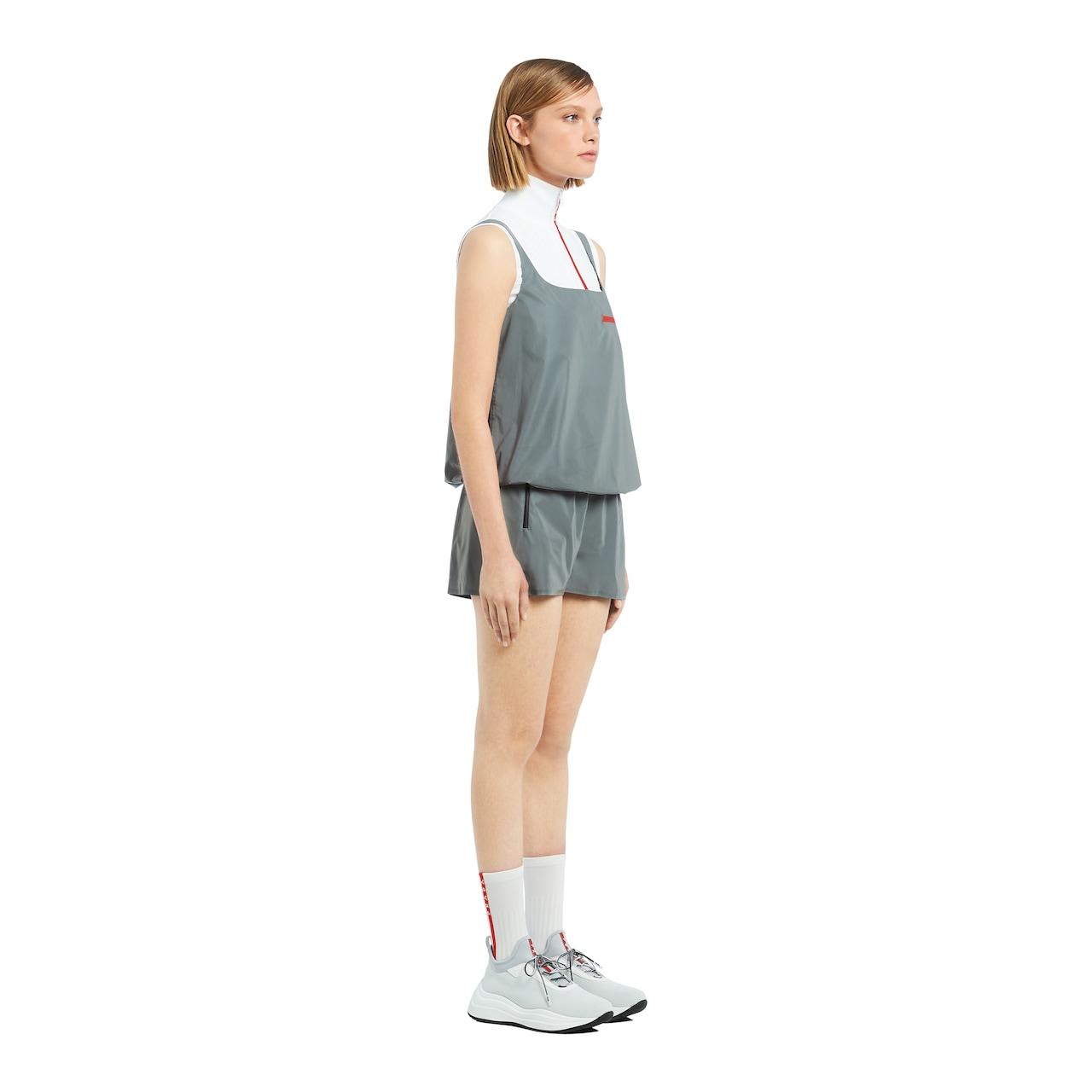 Prada 反光效果织物面料上衣 LR-L017 3