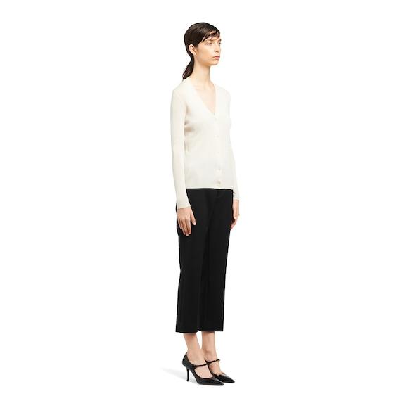 Prada Cashmere and silk cardigan 2