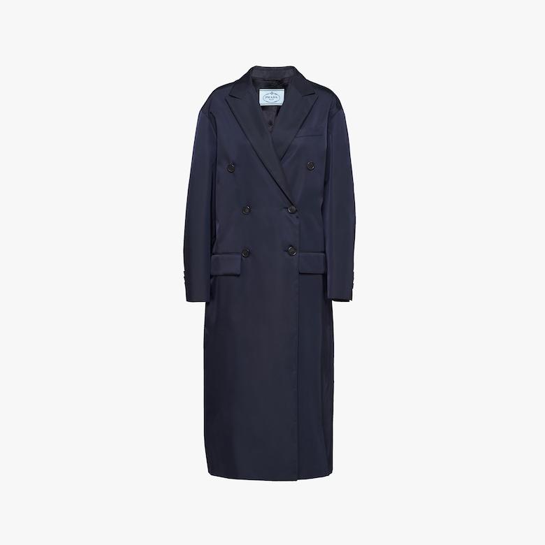 Manteau en gabardine de nylon