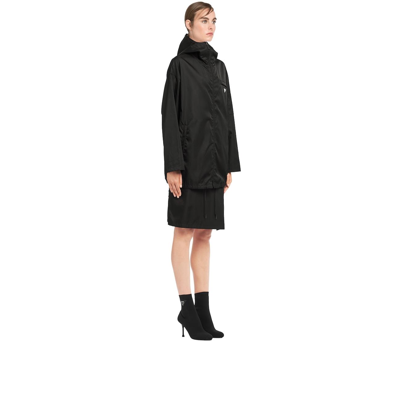 Prada Nylon gabardine caban jacket 3