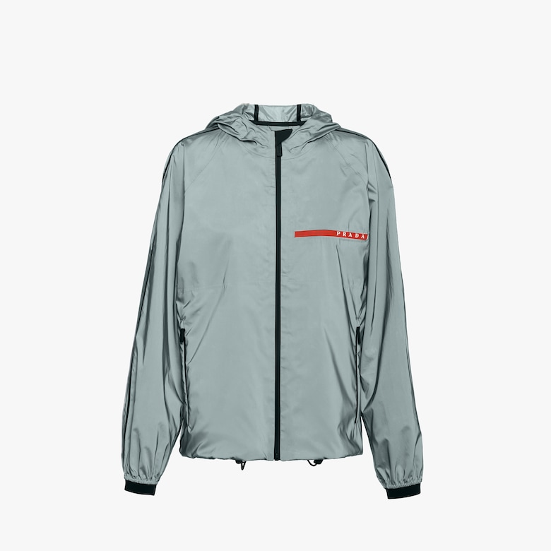 Reflective fabric jacket