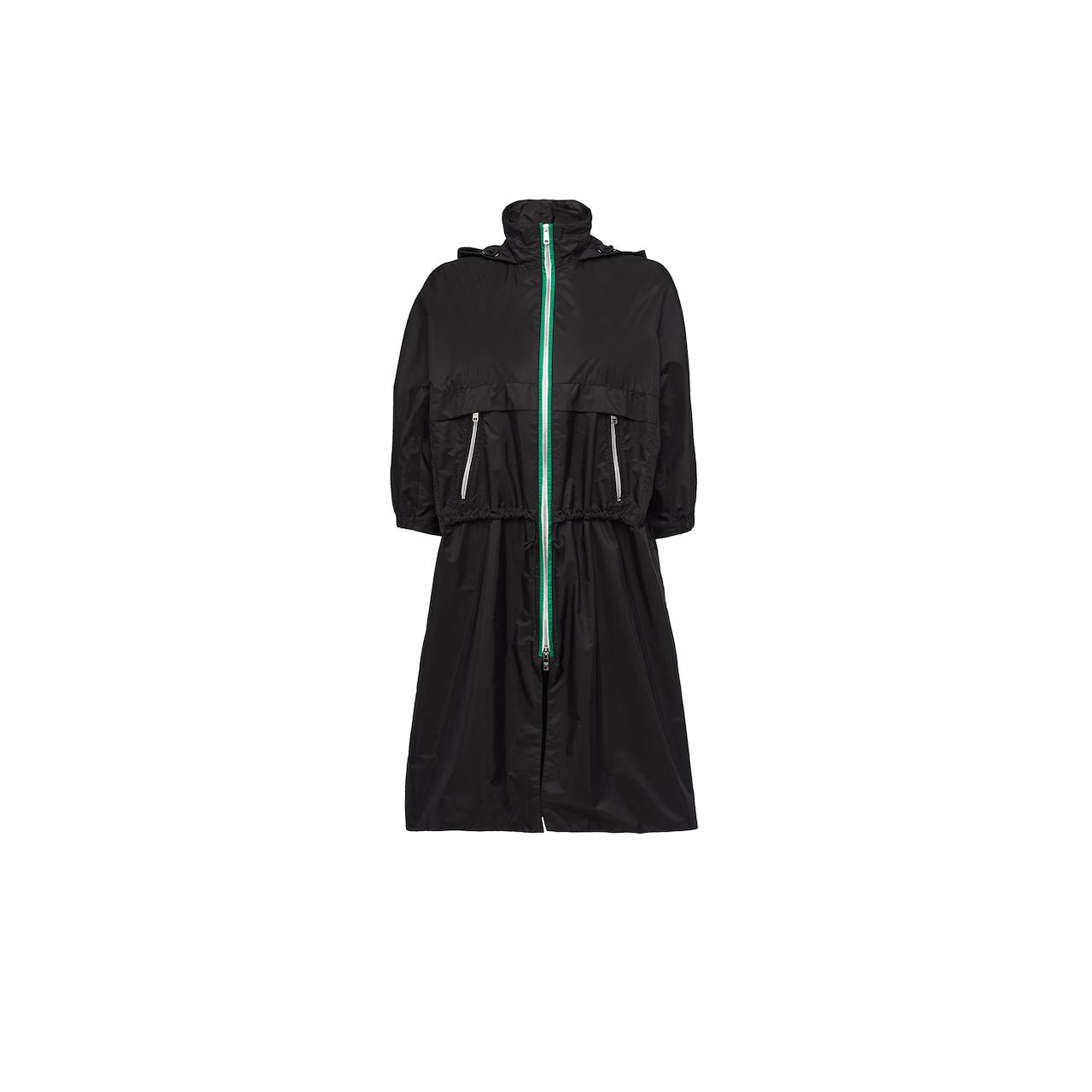 Feather nylon raincoat