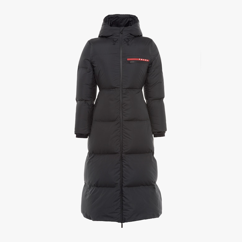 Prada LR-HX022 technical nylon puffer coat - Woman