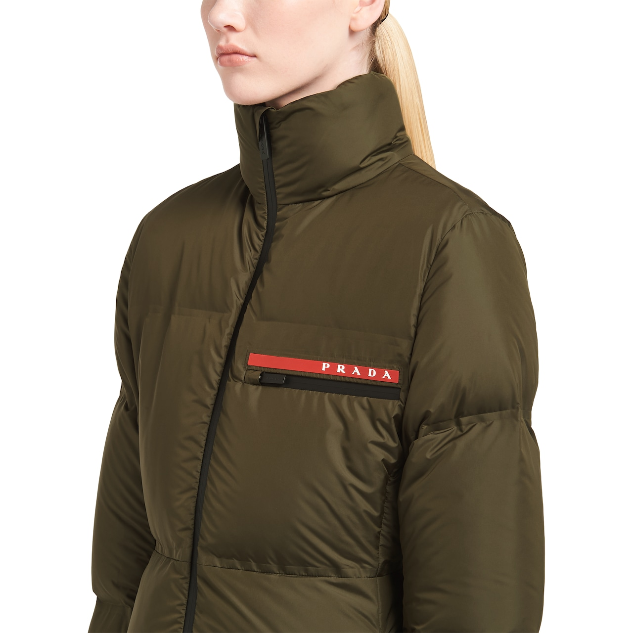 Prada LR-HX15 technical nylon puffer jacket 5
