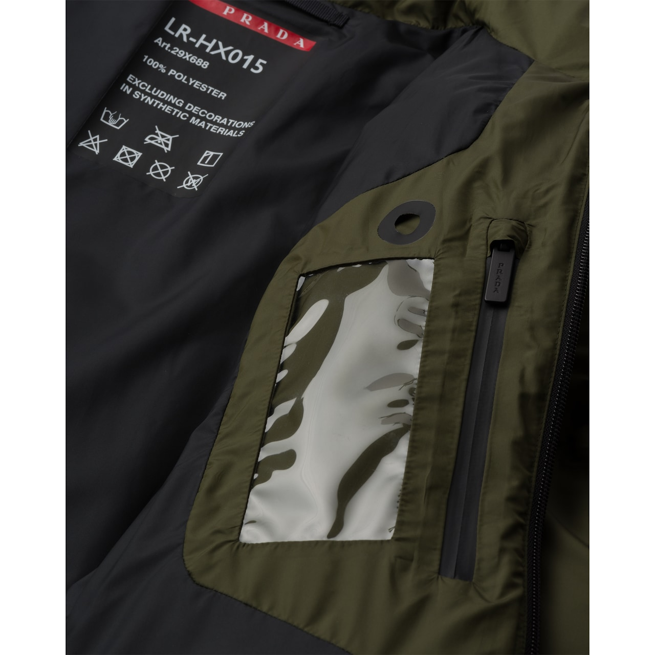 Prada LR-HX15 technical nylon puffer jacket 6