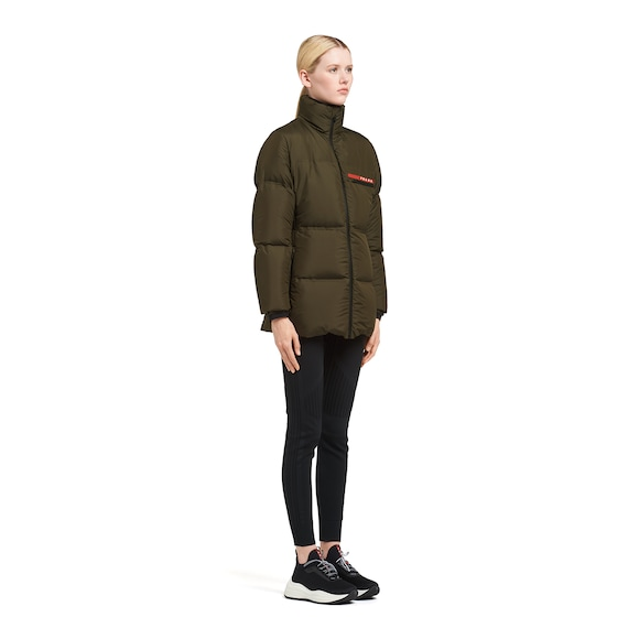 Prada LR-HX15 technical nylon puffer jacket 2
