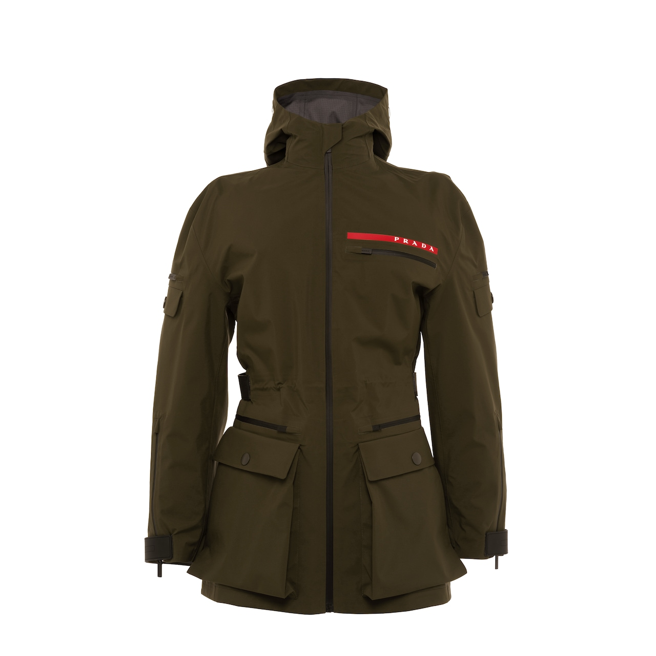 Prada LR-MX18 technical GORE-TEX PRO nylon fabric caban jacket 1