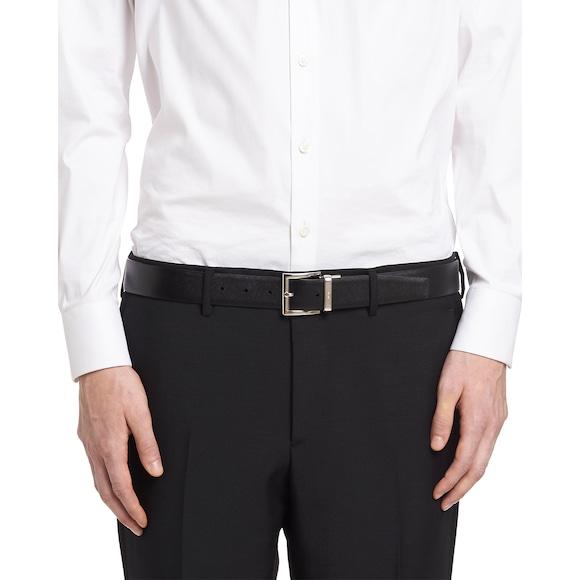 Prada Saffiano Cuir Leather Reversible Belt 2