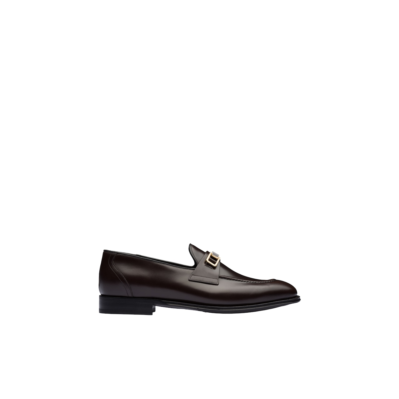 Bright Calf leather loafers