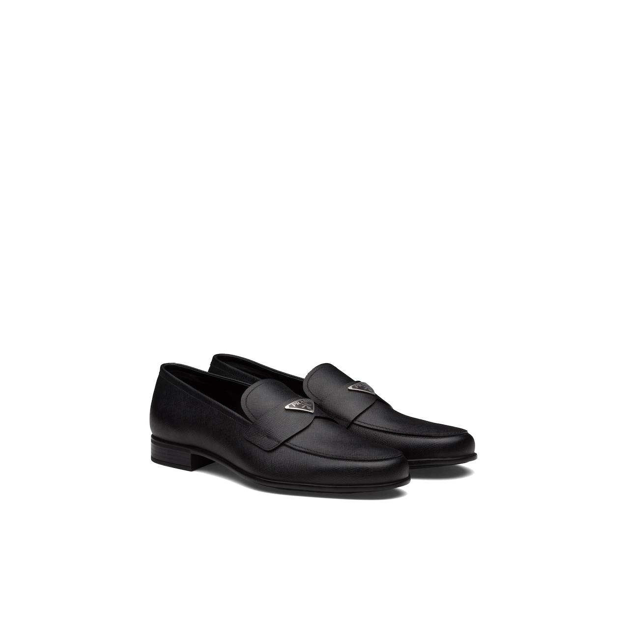 Prada Saffiano leather loafers 1