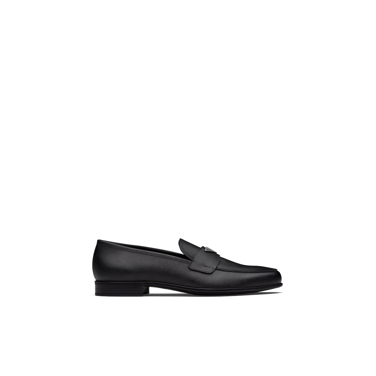 Prada Saffiano leather loafers 2