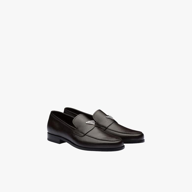 Prada Saffiano leather loafers - Man