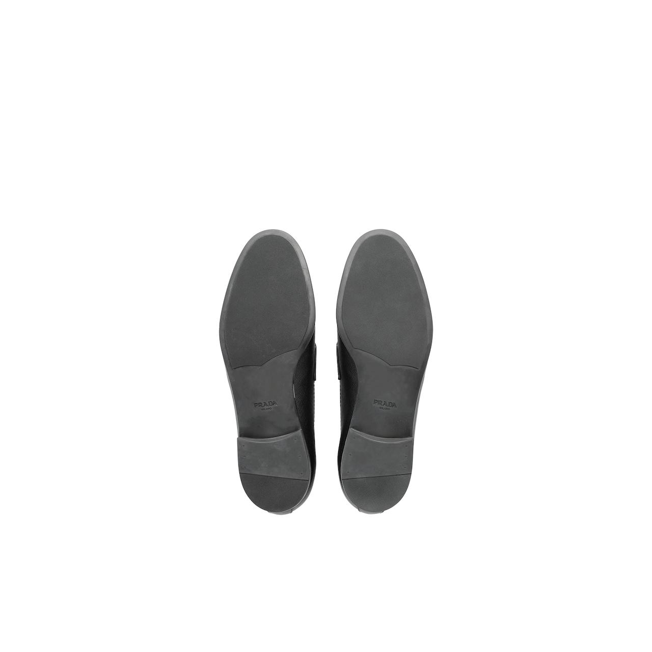 Prada Saffiano leather loafers 5