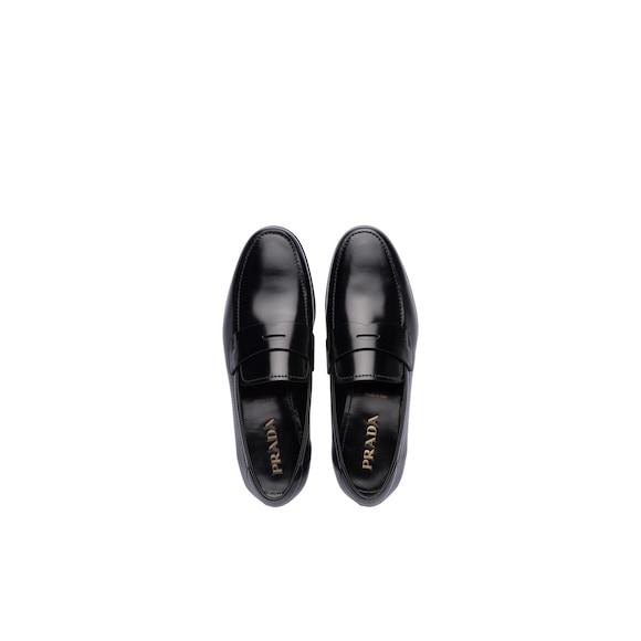 Prada 亮面皮革乐福鞋 2