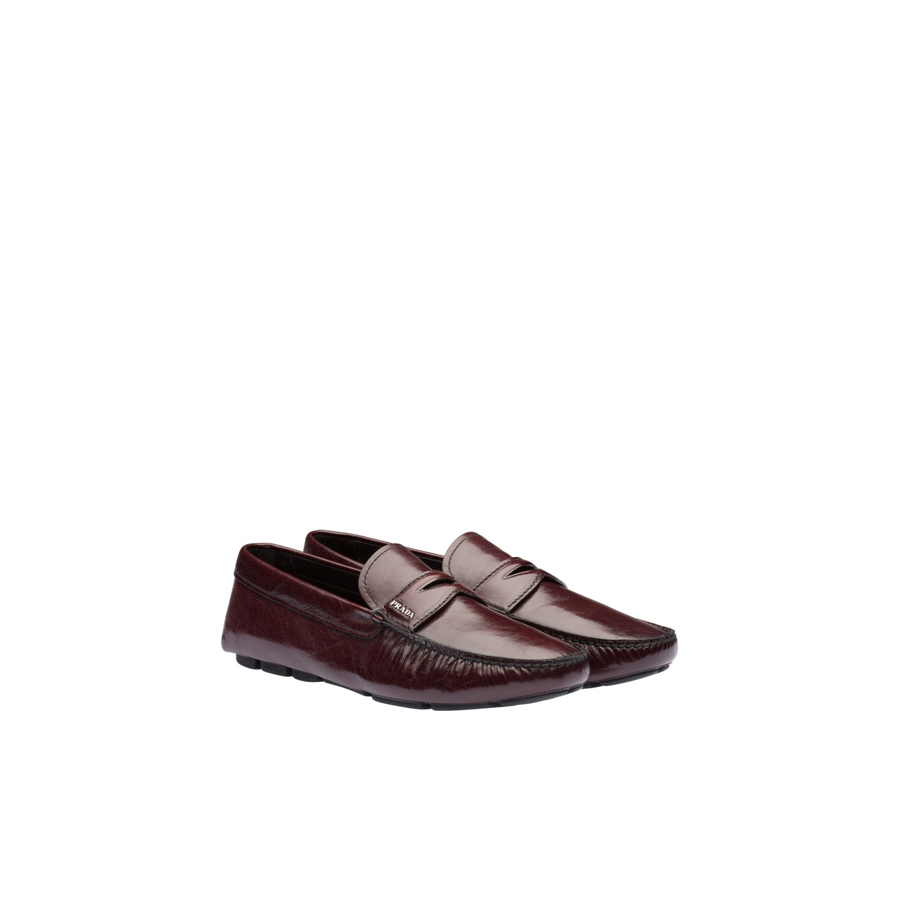 Kangaroo leather loafers