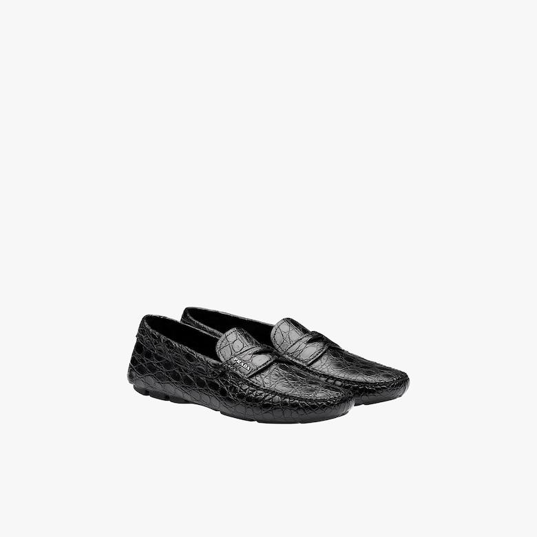 Prada Crocodile leather loafers - Man