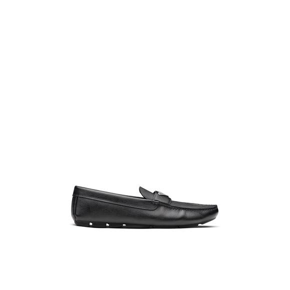 Prada Saffiano 皮革乐福鞋 3