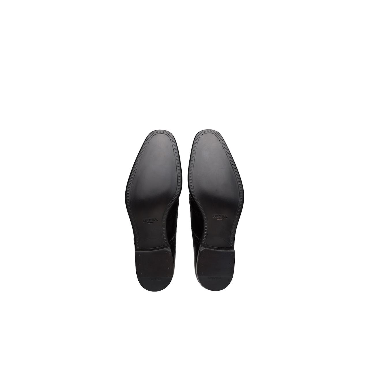 Prada Leather derby shoes 6