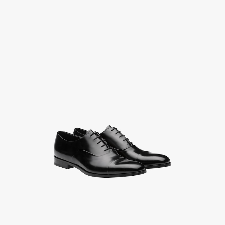 Prada Brushed leather Oxford shoes - Man