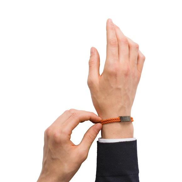 Prada Braided leather wrist strap 3