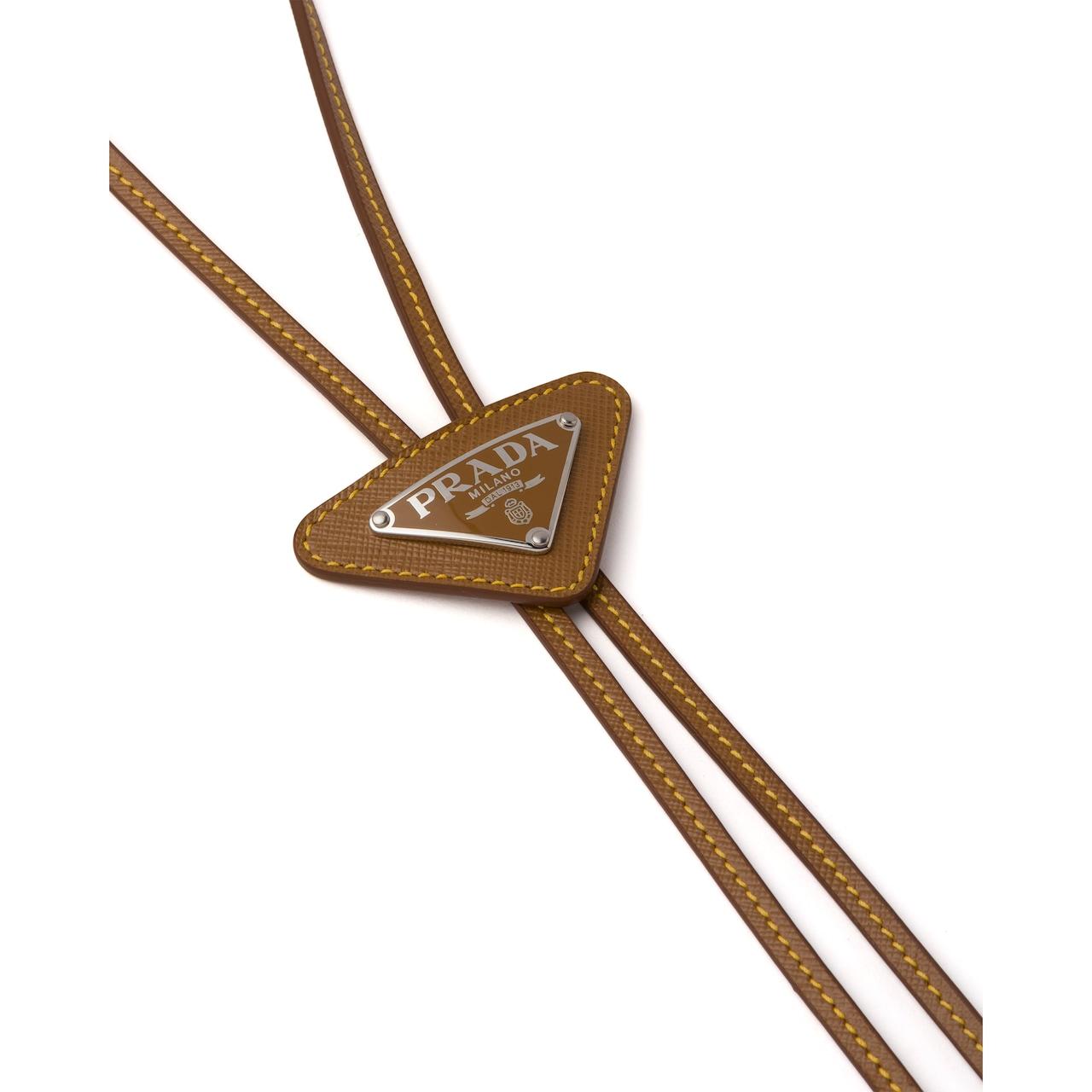Prada Saffiano Leather Bolo Tie 3