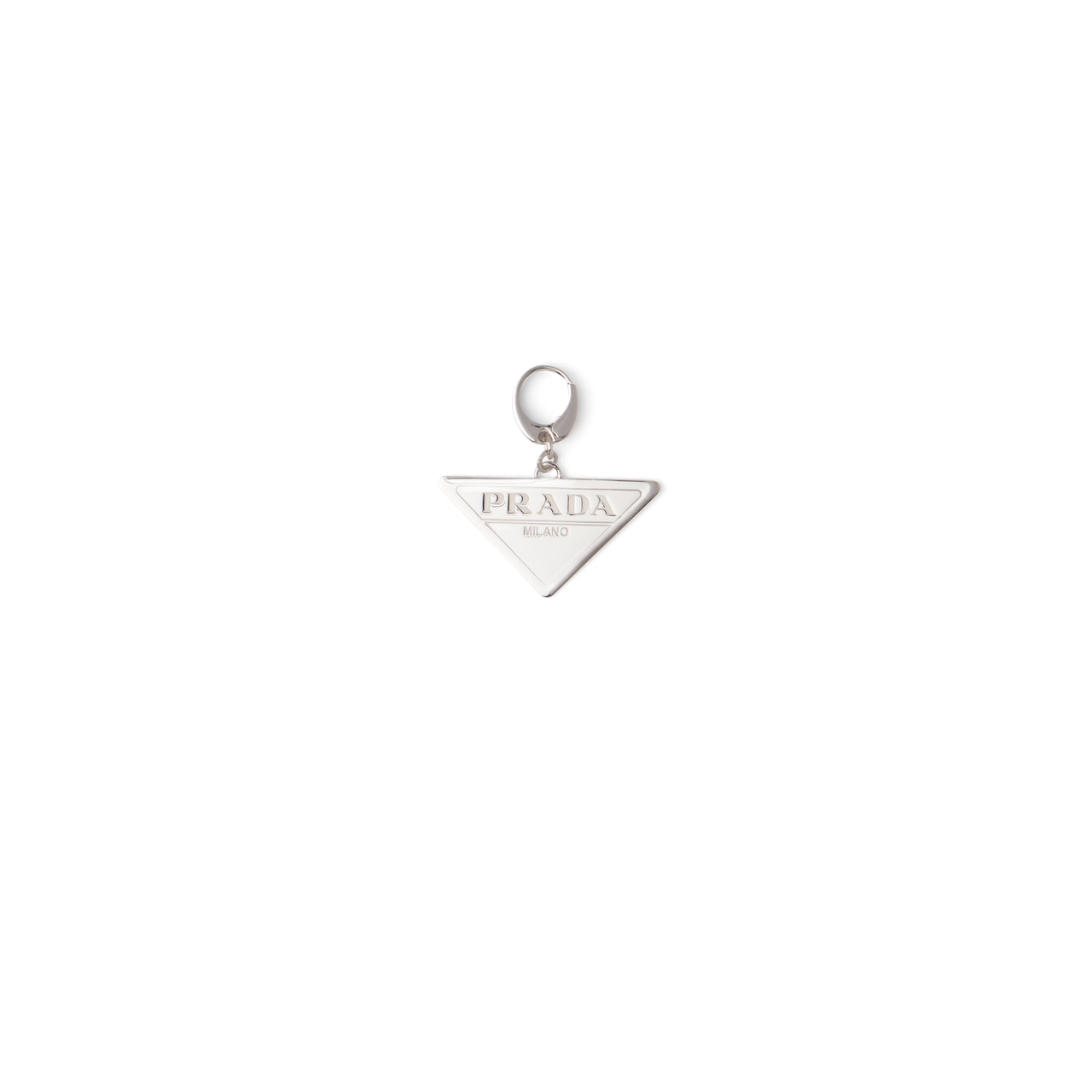 Prada Prada Fine Jewellery Charm with triangle logo 1
