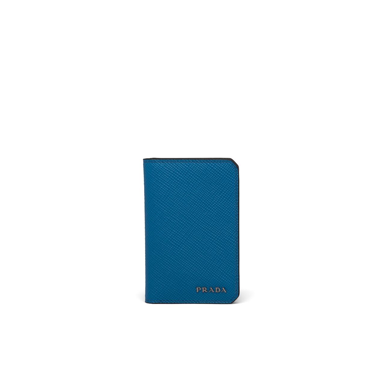 Prada Saffiano Leather Card Holder 1