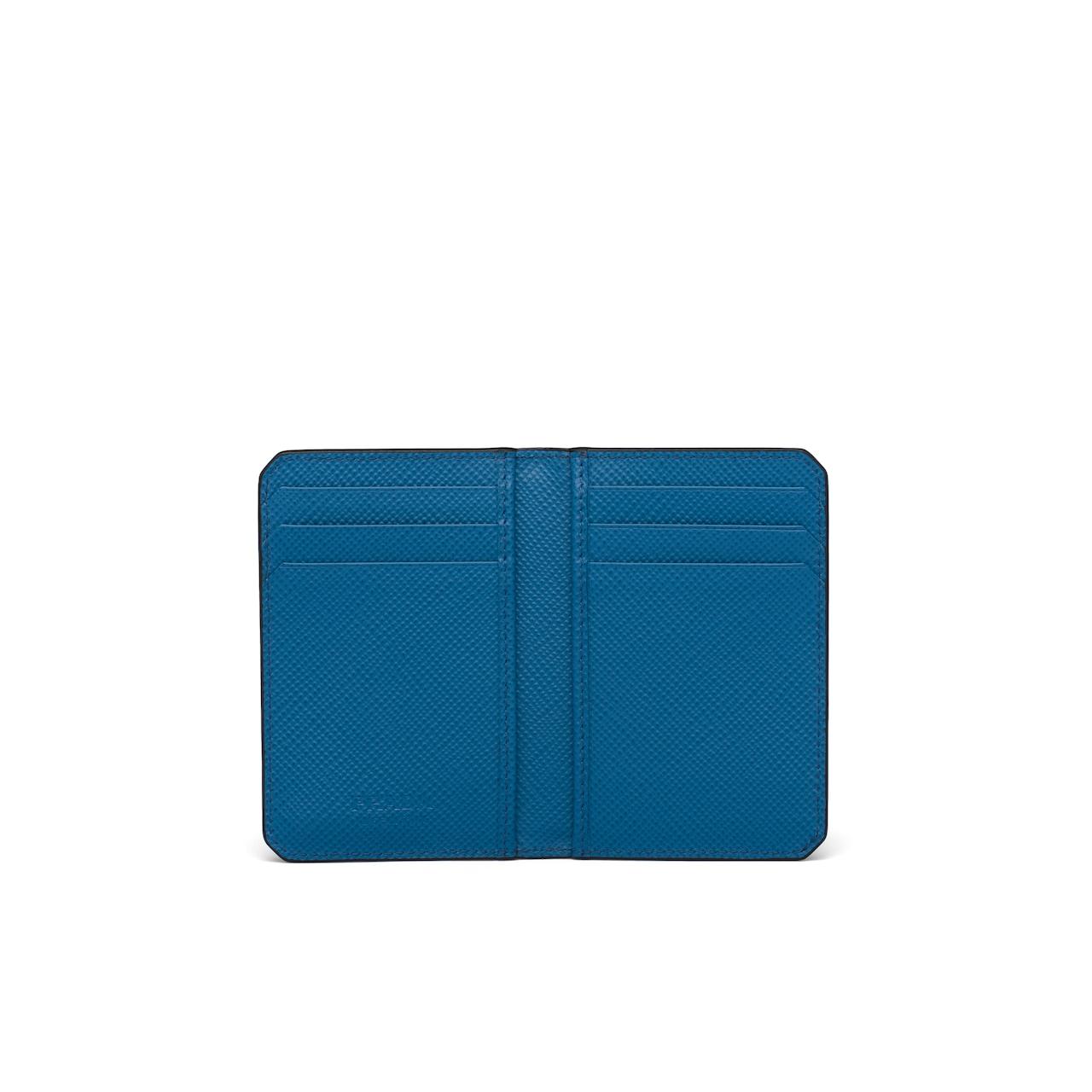Prada Saffiano Leather Card Holder 4
