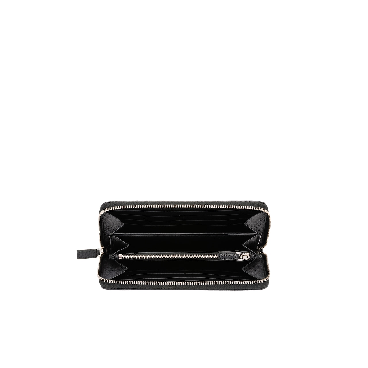 Prada Saffiano leather wallet 2