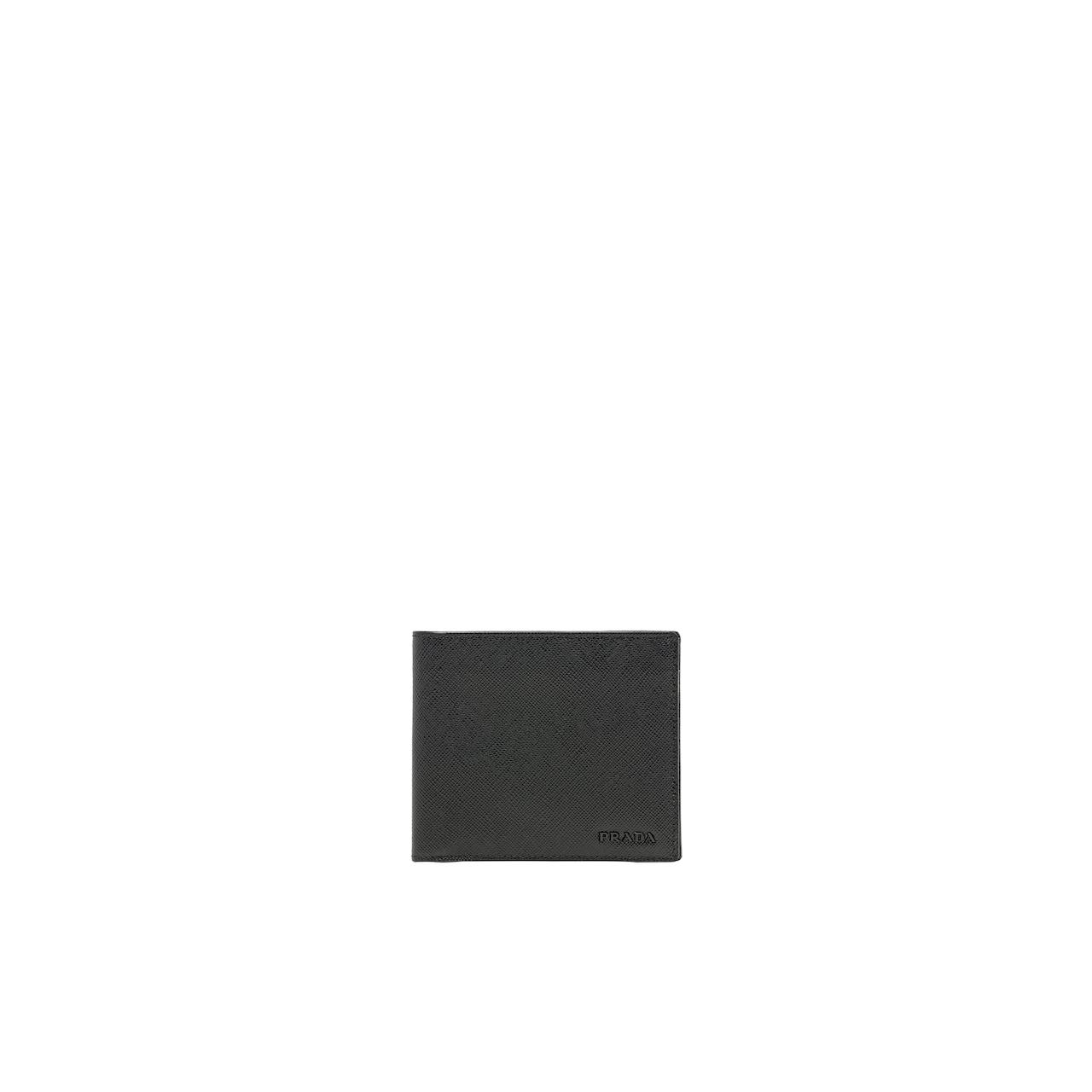 Prada Saffiano 皮革钱夹 1