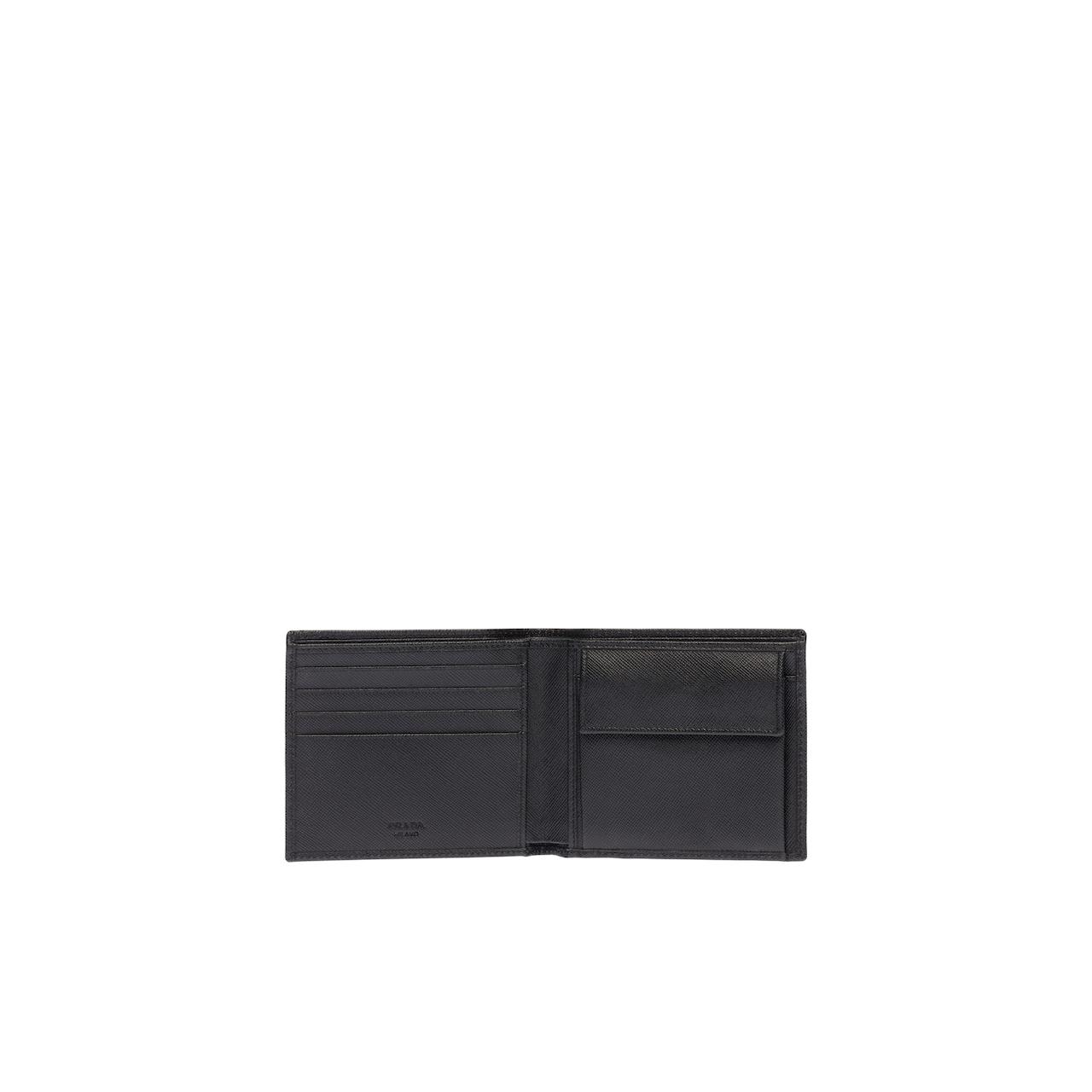 Prada Saffiano Leather Wallet 2