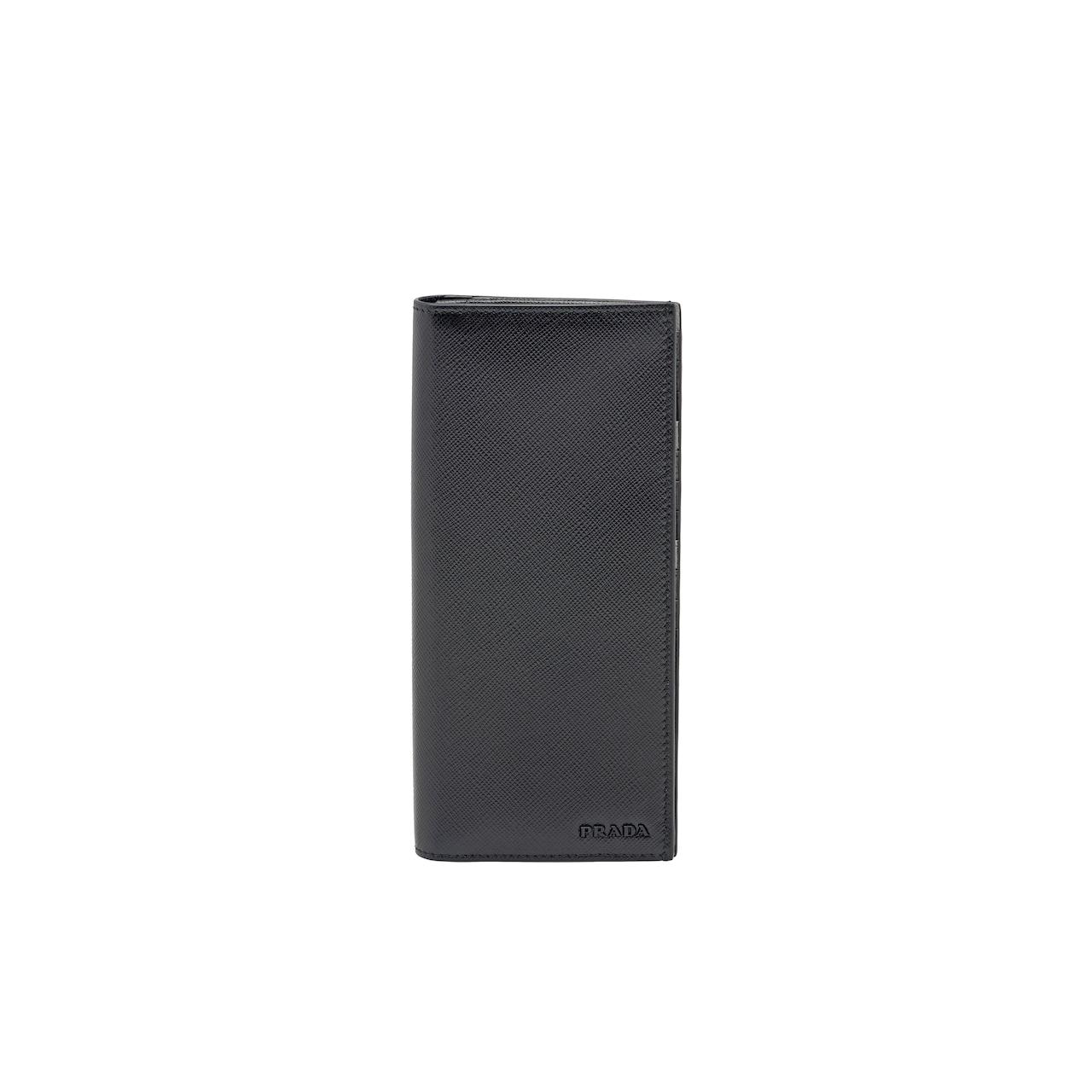 Prada Saffiano leather wallet 1