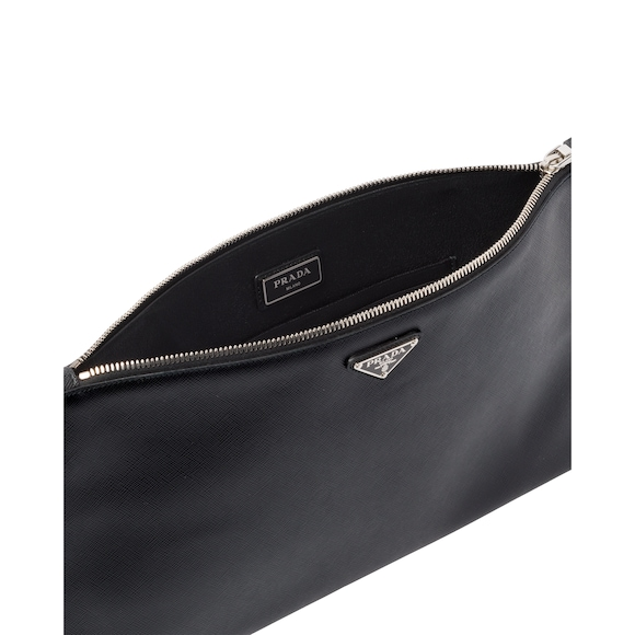 Prada Saffiano Leather Pouch 3