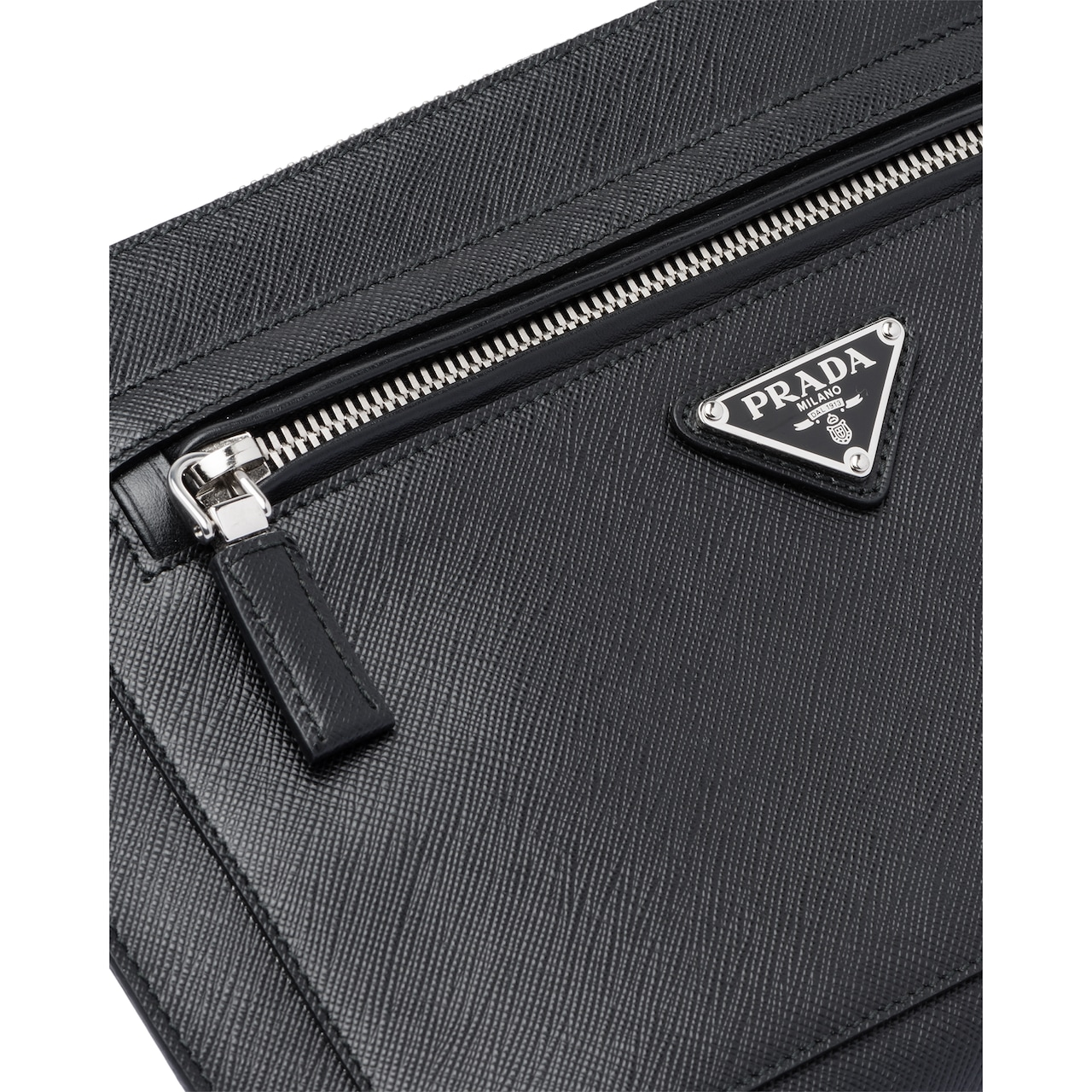 Saffiano leather pouch 6